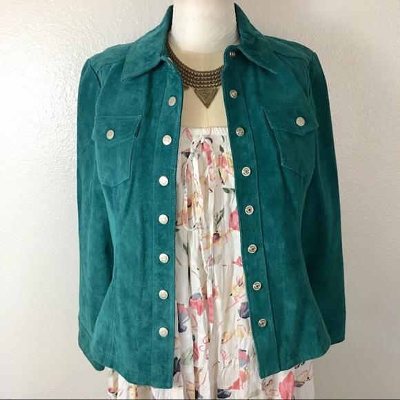 Live a Little Jackets & Blazers - Live a little genuine leather jacket m